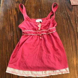 Abercrombie and Fitch Babydoll Tank Size Small